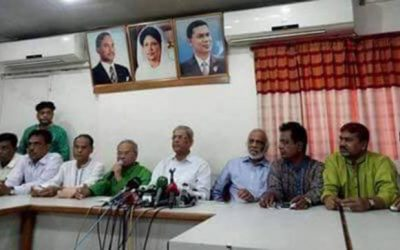 GovtはKhaleda、Tariqueを世論調査から遠ざけたい:BNP