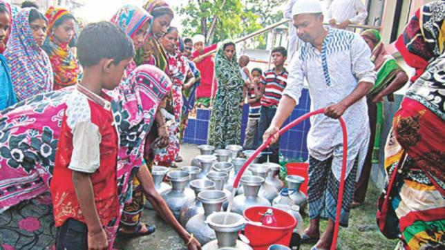 Patuakhaliの水危機