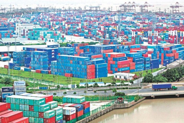 6月の米国との中国の貿易黒字