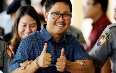 ミャンマーのロイタージャーナリストは今日の評決に直面する