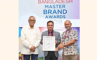 'バングラデシュマスターブランド賞 –  2018年'