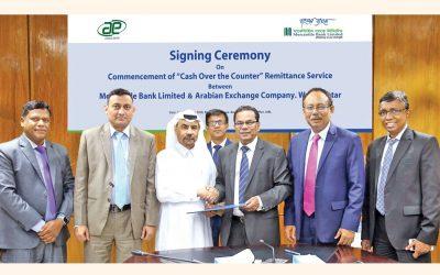 商業銀行とアラビア証券取引所との間の契約