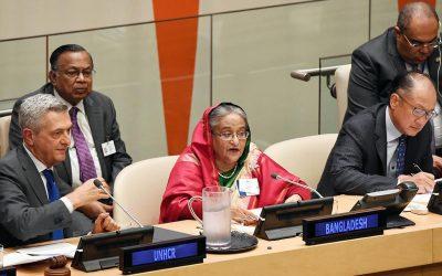 Rohingya危機を終わらせる:PMは国連で3つの提案を満たす