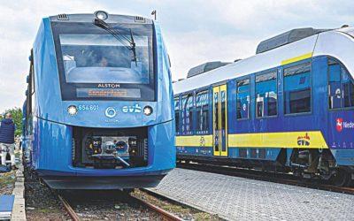 ドイツは世界初の水素列車を展開