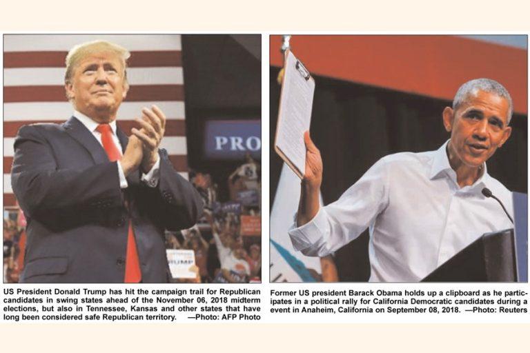 米国の中期選挙 – トランプの政策と成果に関する国民投票