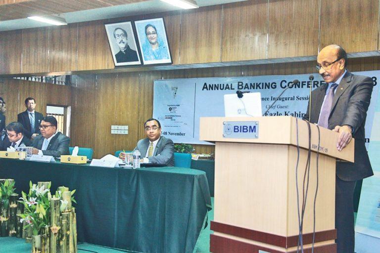 バングラデシュ銀行知事Fazle Kabirの演説