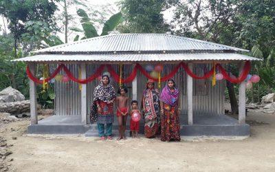 ジーニダの1,563家族、シレットは家を無料で手に入れます