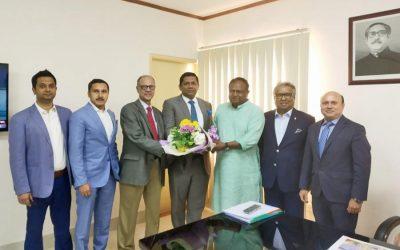 バングラデシュ – ドイツ商工会議所の代表団