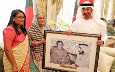 Sheikh Hasinaがバンガバンドゥの珍しい写真を発表