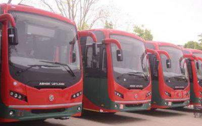 循環型バス発車
