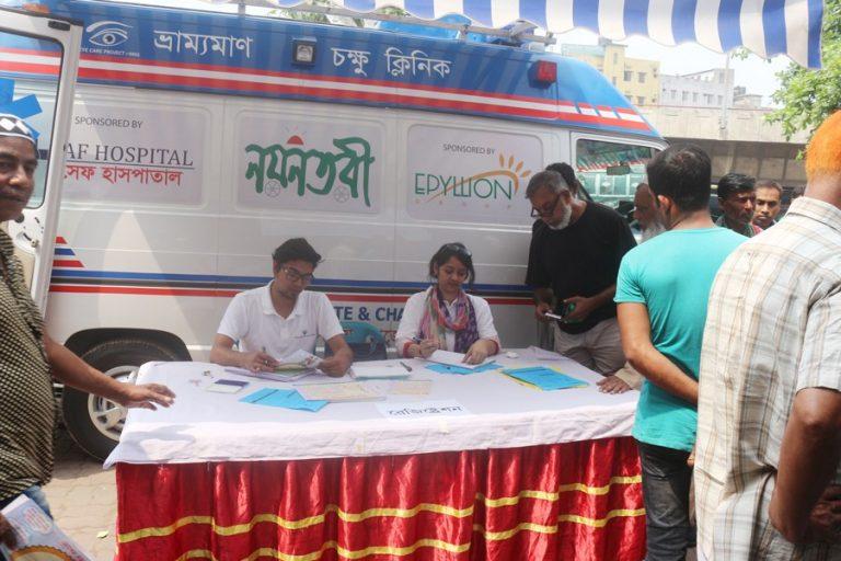 Manabik Shahajya Sangsthaアイケアプロジェクト