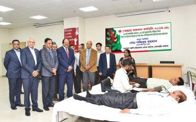 BEPZAが主催する献血キャンプ