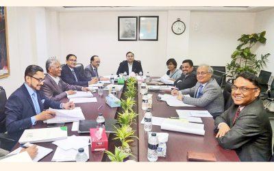 パドマ銀行の第一回理事会