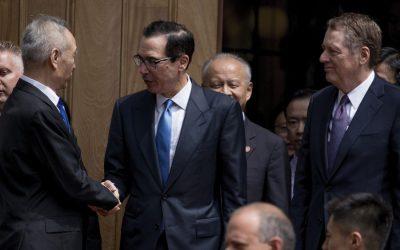 トランプが新しい関税を課すので、米中貿易交渉は障害を打つ