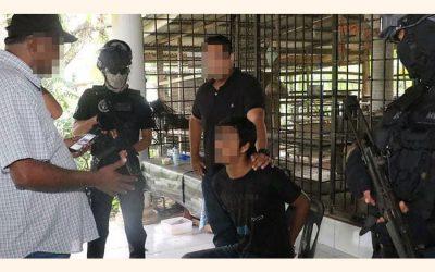 マレーシアの警察が4人を逮捕