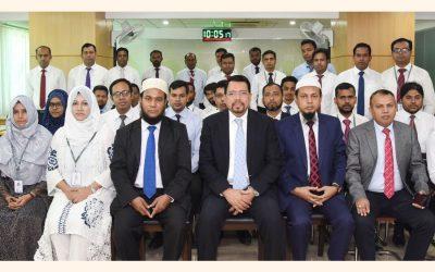 Al-Arafah Islami Bank主催の「財務諸表分析」に関する研修ワークショップ