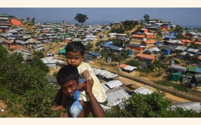 Rohingyaの問題が強調表示されています