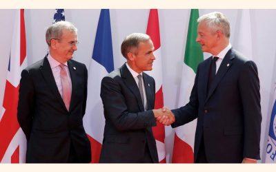 デジタル紛争がフランスのG7大臣に課税
