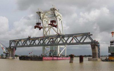 パドマ橋、21年に開通式