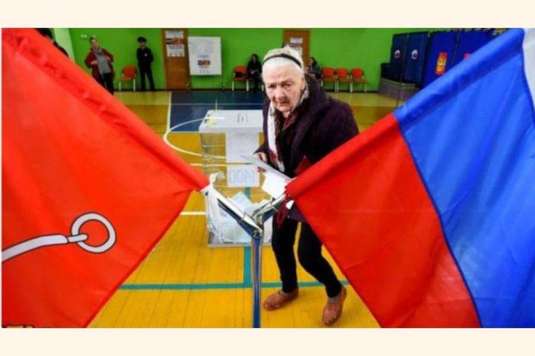 プーチンの政党はモスクワの世論調査で3分の1議席を失う