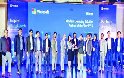 eGenerationがマイクロソフト賞を受賞