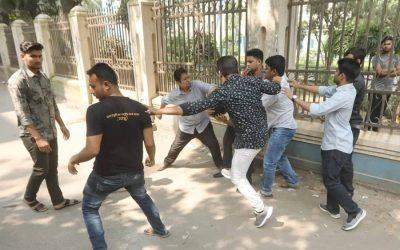 DUでの「BCL攻撃」で負傷した5人のJCD男性