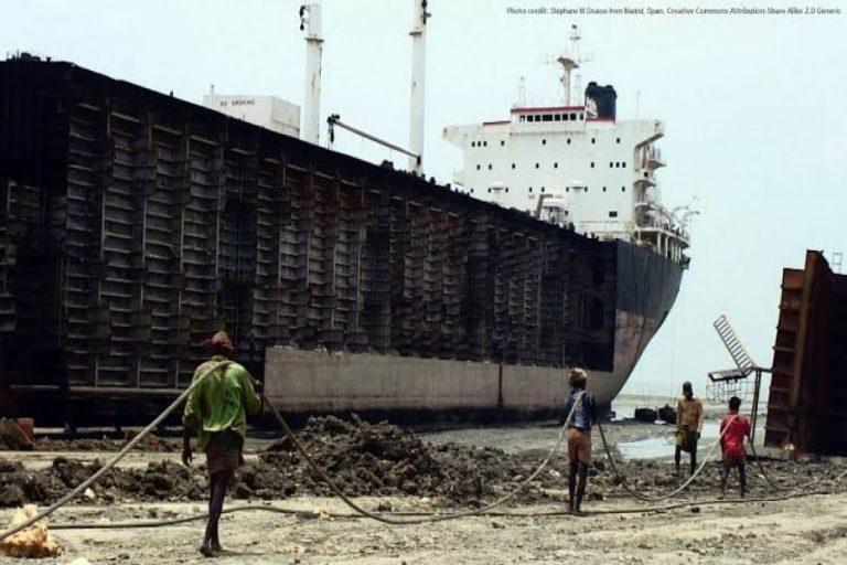 バングラは船舶解体主要国