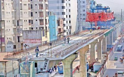線路は11月下旬に設置