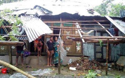 サイクロンで5千家屋に被害