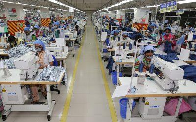 10カ月で58の衣料品新工場