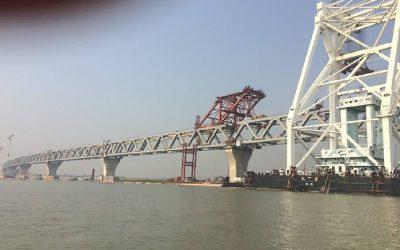 パドマ橋2.7kmまで完成