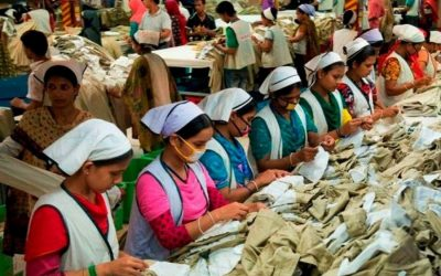 衣料品輸出6.61%減少
