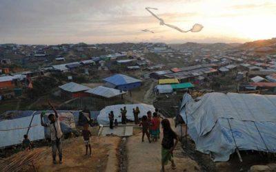 難民キャンプをロックダウン