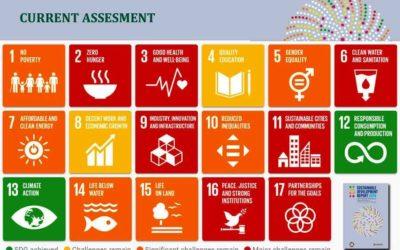 近隣国よりやや前に:SDG指数