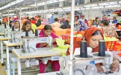 衣料品市場でシェア拡大