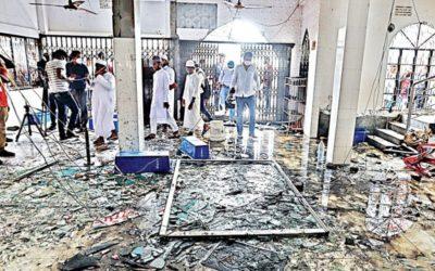 モスク爆発事故