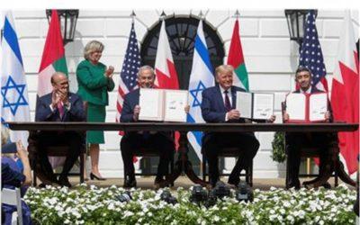 アラブイスラエルの認識:トランプは歴史的な取り引きを主宰する
