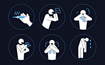 COVID-19の症状:においや味覚の喪失