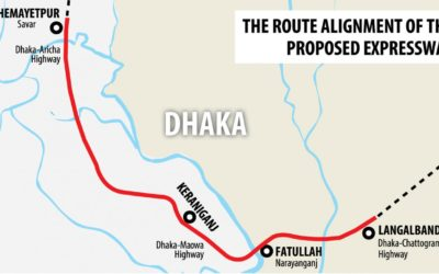 政府は高架高速道路プロジェクトに中国を巻き込む可能性がある