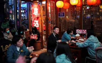 Covidの縁石が衰退し、中国は消費の回復に向けて