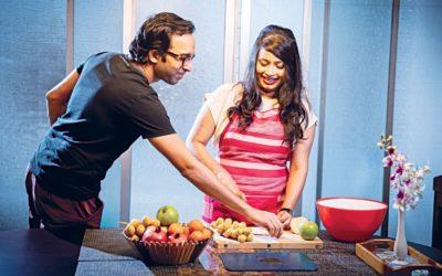 野菜や果物を簡単に洗う