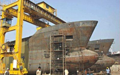 急成長する造船業