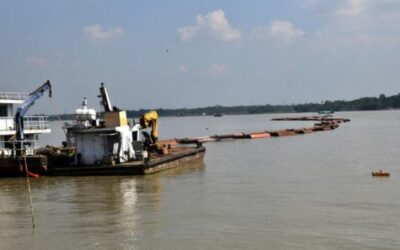 バリサルの62の川の3分の1はもはや航行不可能です