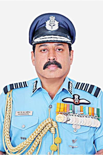 町のインド空軍長