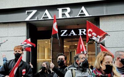 インディテックスが店舗を閉鎖する中、スペインの労働組合は反則を叫ぶ