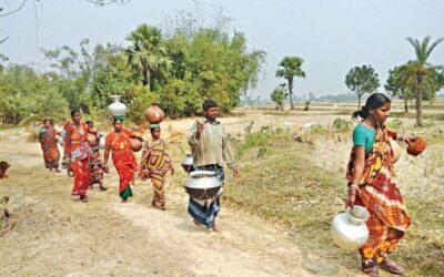バリンド地域の急性水危機