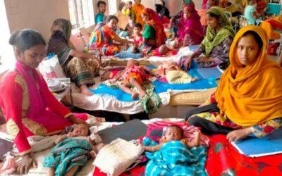 Patuakhali病院での小児患者の入院の急増