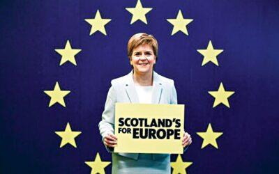 スコットランドのナショナリストは独立住民投票を要求する