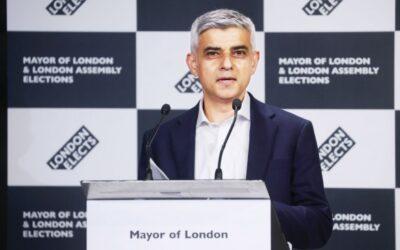 サディク・カーンがロンドン市長に再選