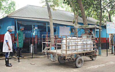 牛乳の安全を確保する上での乳製品ハブの役割